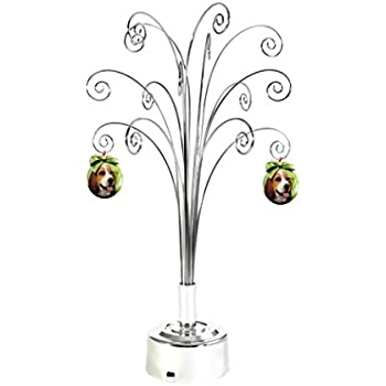 Amazon Com Gold Wire Ornament Tree Display By The