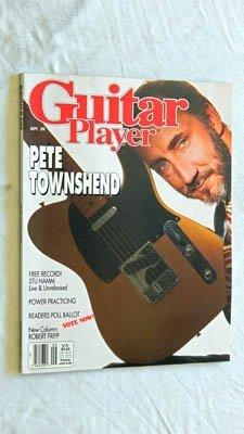 Guitar Player Magazine September 1989 - VERY RARE Grade 9.6 - Pete Townshend The Who - Robert Fripp King Crimson - Stu Hamm Sci-Fi Bass W/ ()