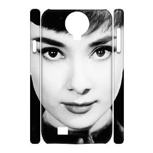 C-EUR Cell phone case Audrey Hepburn Hard 3D Case For Samsung Galaxy S4 i9500