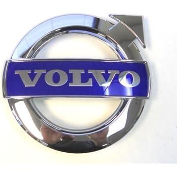 Amazon.com: Volvo, emblema azul de parrilla con insignia ...