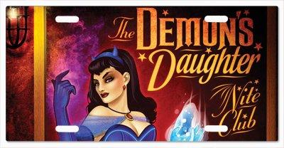 Raven DC Bombshells Vanity License Plate -