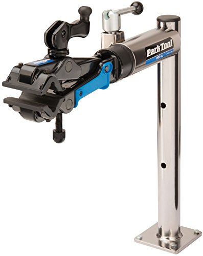 Park Tool PRS-4.2-2 Adjustable Bench Mount Stand with 100-3D Clamp (Bench Park Mount Tool)