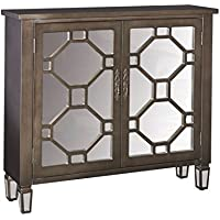 Powell Furniture 16A2040 Hex Dusk Shimmer 2 Dr Console
