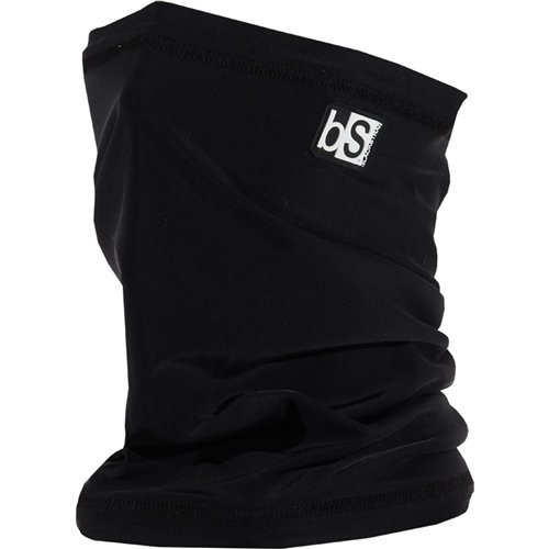 BlackStrap Tube Solid Facemask Black, One Size