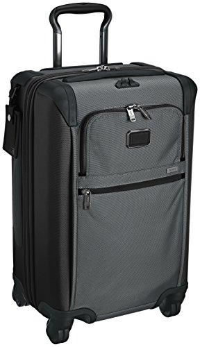 Tumi Alpha International Expandable 4 Wheel Carry-on, Pewter