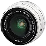 Pentax SMC DA L 18-50mm f/4.0-5.6 DC WR RE Lens (White) (Bulk Packaging)