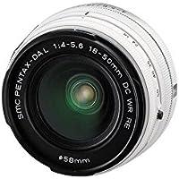 Pentax SMC DA L 18-50mm f/4.0-5.6 DC WR RE Lens (White) (Bulk Packaging)