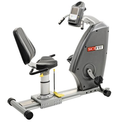 Scifit Iso1000R Bi-Directional Recumbent Bike With Swivel Seat - 1 Each / Each - 10-6035