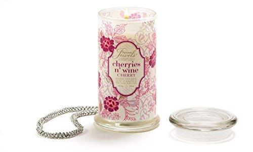 Secret Jewels Candle Jar, 16-Ounce, Cherries 'N (Secret Cherry)