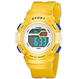 Multifunction Alarm Weekday Stopwatch Kids Sports Digital Luminous Wrist Watch