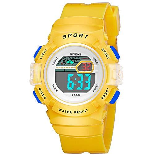 Multifunction Alarm Weekday Stopwatch Kids Sports Digital Luminous Wrist Watch by Gaweb (Image #9)