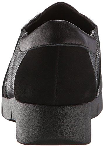 Clarks Daelyn Vista plana Black Leather