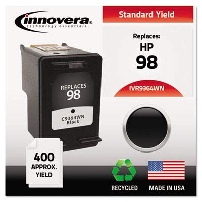 Innovera 9364WN - 9364WN Compatible Reman High-Yield Ink, 588 Page Yield, Black ()