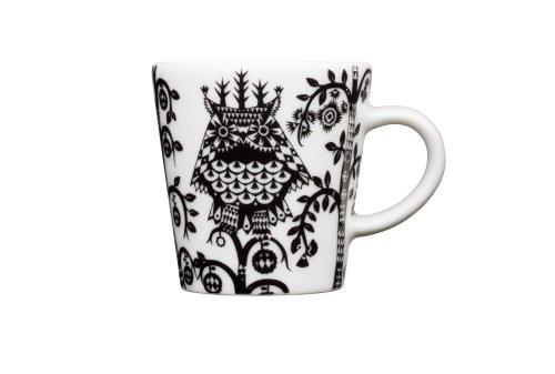 Espresso Taika Cup - Iittala Taika Espresso Cup, Black, 3-1/3-Ounce