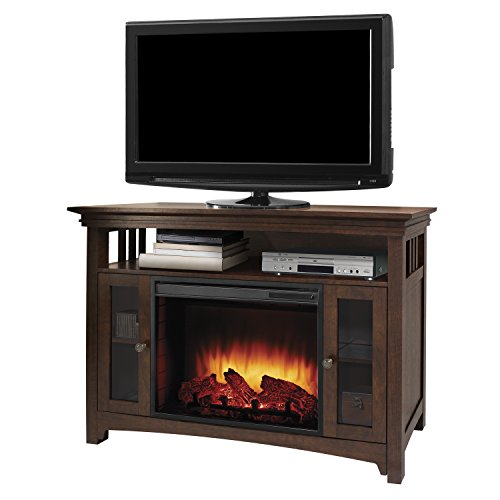 "GHP Muskoka Wyatt 48"" Media Fireplace-Burnished Oak"