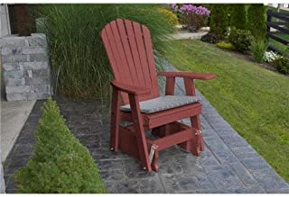 product image for Poly 2 Ft Single Adirondack Glider Chair - Cherrywood