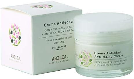 Abilia - Crema Antiedad Bio Ecológica Certificada, 50 ml