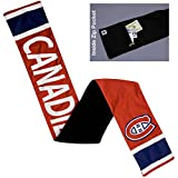 Littlearth NHL Montreal Canadiens Jersey Scarf