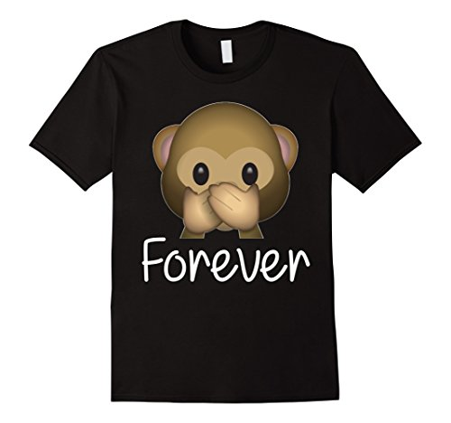 - Best Friends Forever T-Shirt For 3 Monkey Emoji #3