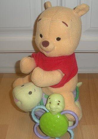 B0009QVFCW Winnie the Pooh - Magic Rattle N Ride 41e-DhgixjL