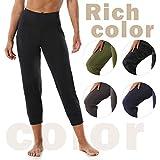 Women's Athletic Joggers Capri Pants Dry Fit