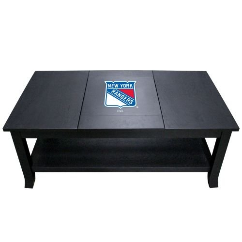 Imperial Officially Licensed NHL Furniture: Hardwood Coffee Table, New York Rangers