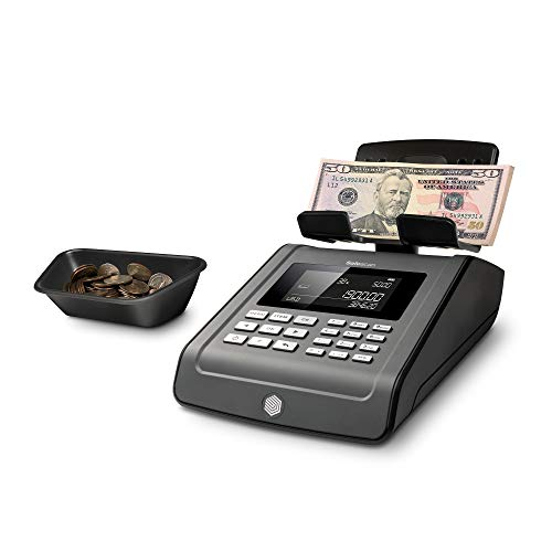 Safescan 6185 - Advanced money counting scale for counting bills and coins