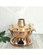 Koolstof Dikke Koper Pot Pot Schoorsteen Pot Deksel Pure Koper Pot Koperpot Lam (34cm)