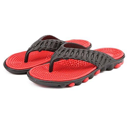 Zapatillas Ligeras Verano Arco Rojo Playa Con Ocasionales Zapatillas Antideslizantes TOCCOT De De Sandalias Para De Hombres Pesan Chanclas Soporte twHTOBq