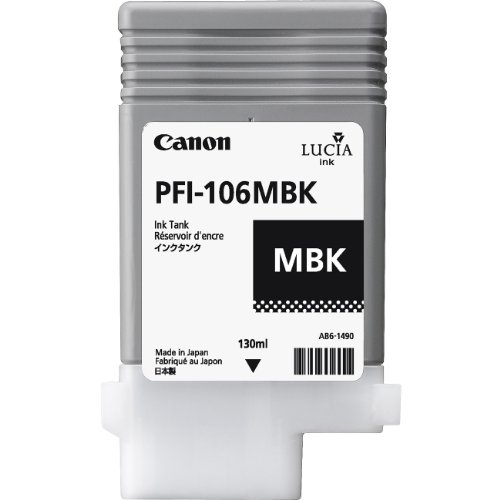 CANON 6620B001AA CANON PFI-106 MBLK BLK IN TANK - Ml Part 130