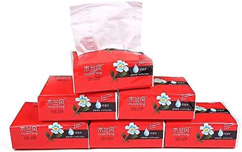 HUI JIN Gesichtstücher, 3-lagig, parfümfrei, 300 Blatt x 10 Packungen