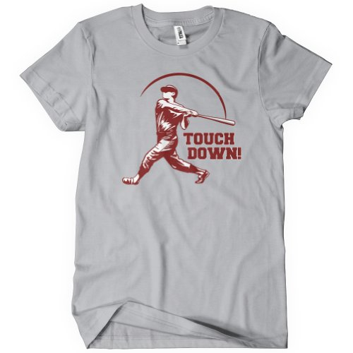 Touch Down T-Shirt Funny Adult Mens Cotton Tee Sizes S-5XL