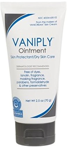 Vaniply Ointment Tube - skin protectant - gently soothes dry