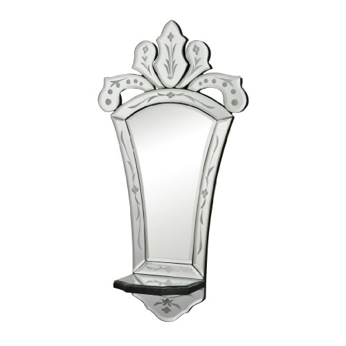 Sterling Holtshire Mini Venetian Mirror With Shelf