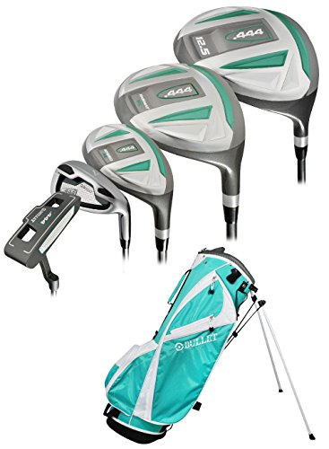 Bullet Golf Women s .444 Complete Set with Bag, Emerald