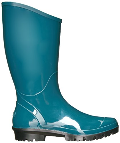 Columbia Mujeres Rainey Tall Rain Bota Cloudburst, Ginkgo