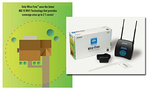 Perimeter Wire-Free WiFi Fence