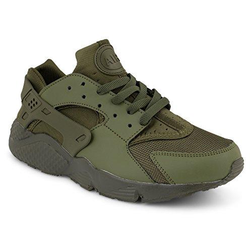 Hurache Homme Design Militaire Vert Bottes Shoes Classiques Click 5vPFqf6