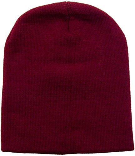 Las Basic Color Cálido Knit Simplicidad hombres Y Sólido Mujeres Gorro Granate De Esquí Snowboard faxxwqp