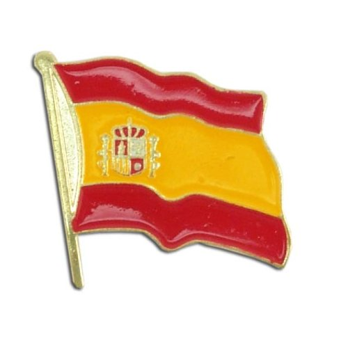 US Flag Store Lapel Pin Spain Flag