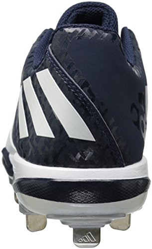 Baseball Navy adidas Silver Collegiate W Poweralley 4 Women's Performance Metallic Shoe White qTTRXHCw