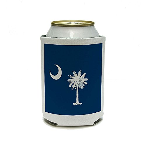 South Carolina State Flag Can Cooler - Drink Insulator - Beverage Insulated ()