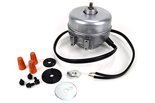 Fits Whirlpool, Kenmore 833697 Universal Condenser Fan Motor WR60X225 AP3120994 PS395284 by Fits Whirlpool, Kenmore