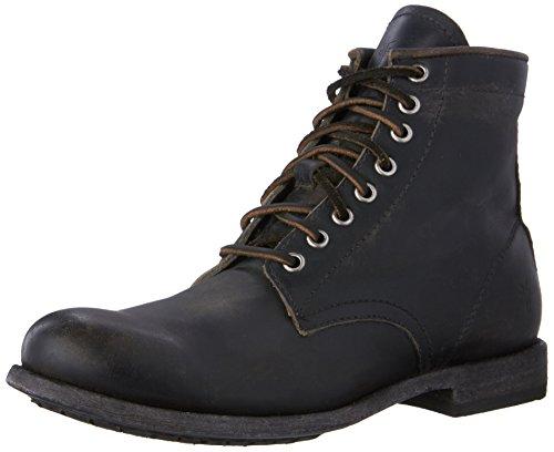 (FRYE Men's Tyler Lace Up Boot, 86071-Black, 10.5 D US)