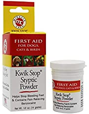 Kwik Stop Styptic Powder for Pets 1/2 OZ