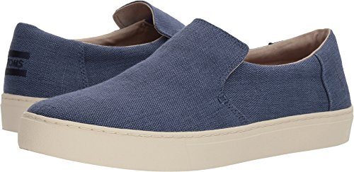 Toms Mens Lomas Slip-on Cadet Blu Heritage Canvas 11.5 D Us