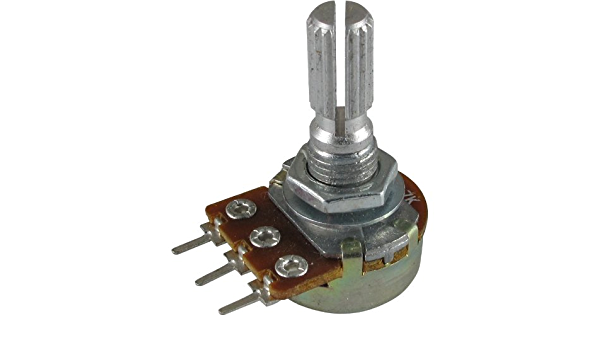 BR84566 POTENTIOMETER DPST LIN 4K7 Resistors Variable Rotary