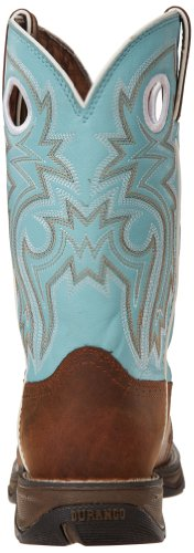 Durango Boots RD3471 Powder´n Lace/Damen Westernreitstiefel Braun Türkis/Work Boots/Damenstiefel Powder´n Lace