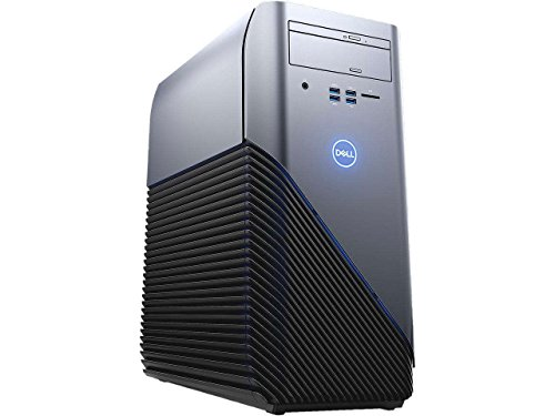 2018 Dell Inspiron 5675 Gaming Desktop Computer, AMD Ryzen 7 1700X 8-Core up to 3.8GHz, 8GB DDR4, 1TB HDD, AMD Radeon RX 570 4GB GDDR5, 5-in-1 Card Reader, USB 3.1 Type-C, DVD±RW, Windows 10 Home
