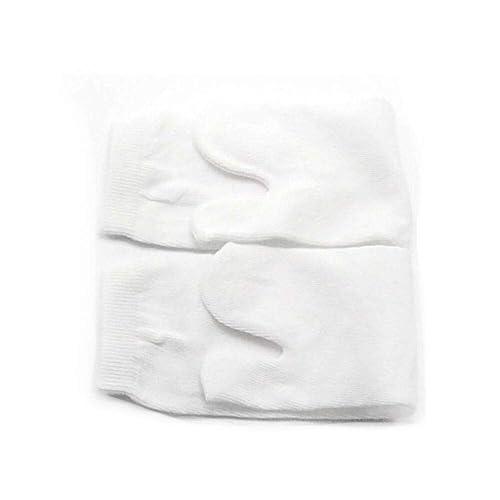 GOOTRADES Unisex 2 Par de Tabi Calcetines Elásticos Algodón Japoneses de Dedos de Pies 2 –